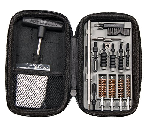 (Smith & Wesson M&P Compact Pistol Cleaning Kit for .22 9mm .357 .38 .40 10mm and .45 Caliber Handguns)