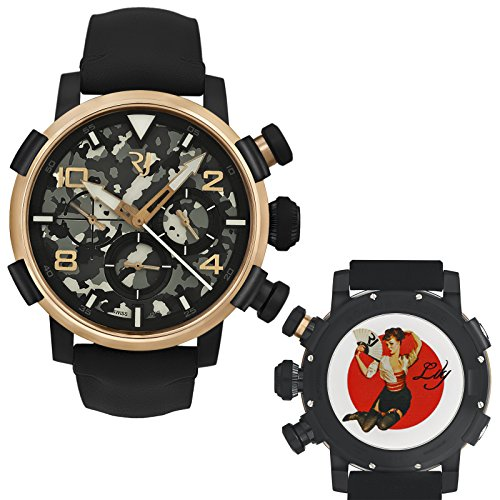 Romain-Jerome-Pinup-DNA-Red-Gold-WWII-Lily-Fan-Chronograph-Auto-RJPCH00301