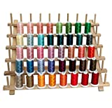 40 Spool Polyester Embroidery Machine Thread Set Vivid Colors - 500M - for Brother Babylock Janome Singer Pfaff Husqvarna Bernina Machines - 4 Sets Available - Threadart Brand