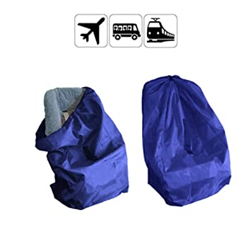 Yuccer Infant Car Seat Travel Bag Gate Check Bags Protector With Strap For Airplane