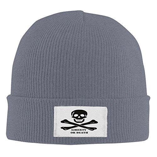 Liberty Or Death Winter Warm Knit Cap Beanie Hat Asphalt (Liberty Tax Software)