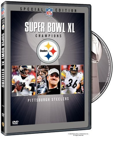 NFL Super Bowl XL - Pittsburgh Steelers Championship DVD at Steeler Mania