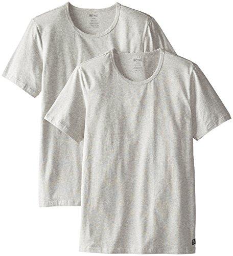 Buffalo David Bitton Men's 2-Pack Cotton Stretch Crew Neck T-Shirt