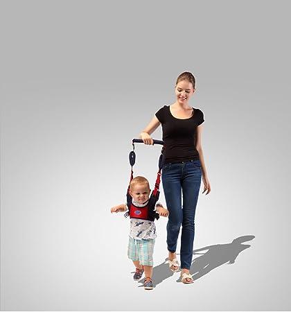 Bebé Caminar Arnés, Riendas para Caminar Seguridad Asistente Niños Andador Anti Perdido Correa, Azul