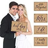 Wedding - Photo Prop Kit - 10 Count
