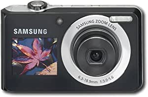 Samsung TL205 12 Megapixel Digital Camera with 3x Optical Zoom, Dual LCD Screens, Smart Auto, Digital Image Stabilization, Silver