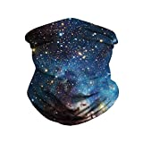 3D Print Cycling Scarf - Seamless Rave Bandana Face Mask for Men Women Dust Wind Sun UV Protection Scarf Cover by Pgojuni
