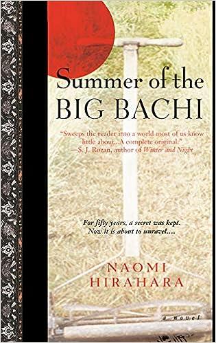 Amazon Fr Summer Of The Big Bachi Naomi Hirahara Livres