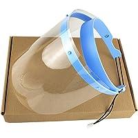 walmeck Professional Face Shield for Dentist Protective Detachable 1 Frame with 10 Visor Films Anti-Fog Dustproof
