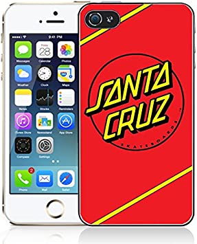Coque iPhone 5/5S Santa Cruz - Logo: Amazon.fr: High-tech