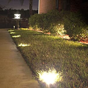 Nova Solar Deck 5 Light Spotlight Set of 5 Garden Path Lights