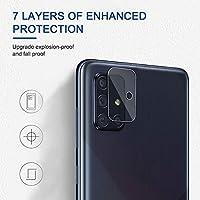 AOLANDER para Samsung Galaxy A71 Protector de Lente de cámara ...