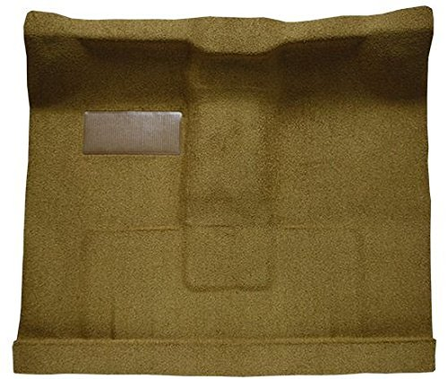 1961 to 1964 Ford Standard Cab Pickup Truck Carpet Custom Molded Replacement Kit, 2 WD Floor Shift or 4 WD (6in Tunnel) (830-Buckskin Plush Cut Pile) ()
