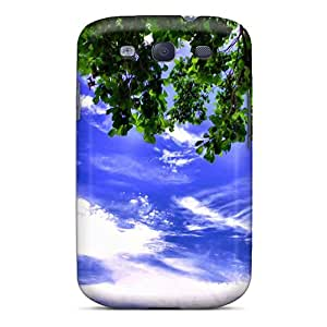 Top Quality Protection Tree Sky Nature Case Cover For Galaxy S3