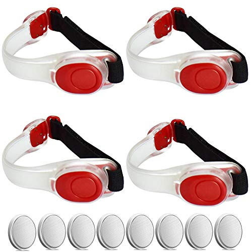 Reflective Adjustable Wearable Silicone Waterproof