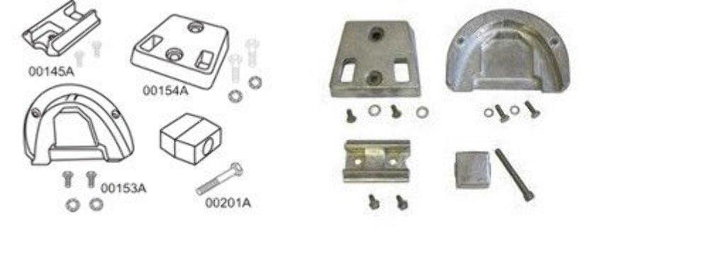 Performance Metals 10188A, OMC Cobra Kit, Drive Train