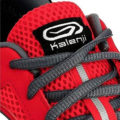 Kalenji - Zapatillas de Running de Caucho para Hombre, Color Rojo, Talla 44 EU: Amazon.es: Zapatos y complementos