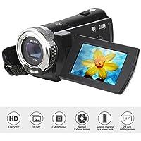Y-blue Sky HDMI 720p 2.7 Inch TFT LCD Rotation Digital Video Camcorder Max 16.0 Mega Pixels 16X Zoom Camera DV Video Recorder+Black