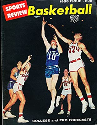 1958 Sports Review Basketball Annual Kentucky em b1