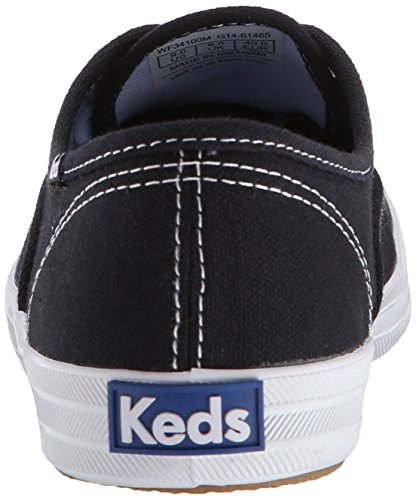Keds Champion Core Text, Women's Low-Top Sneakers, Black (black), 2.5 UK