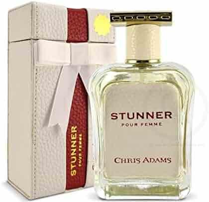 New HOT - Stunner Pour Femme by Chris Adams - 80ml Eau De Parfum with Unique Scent - Titanium Collection