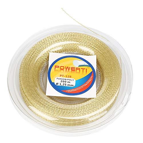 (Ounice Tennis String Tennis String Reel Tennis String Synthetic Gut Tennis Racket String 17g (1.25mm) 656 feet (200m))