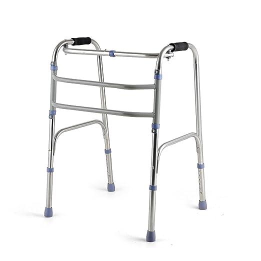 MyAou-Andadores Marco para Caminar Ayuda para Caminar de Acero ...