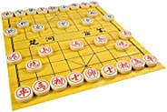 Quantum Abacus Premium Xiangqi: Professional, Heavy Pieces for Chinese Chess / Xiangqi, Made of Melamine Resin, Size M: Diam