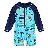 HUANQIUE Baby Toddler Boy Swimsuit Rash Guard