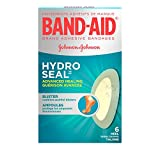 Band-Aid Hydrocolloid Bandages for Heels, Waterproof Adhesive, Hydro Seal, 6 Bandages