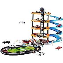 Garage Playset, 3D Toy Car Garage Car Parking Lot DIY Model Assembly Garage Set Toy for Children Kids Boys Girls Kids Toddler Baby