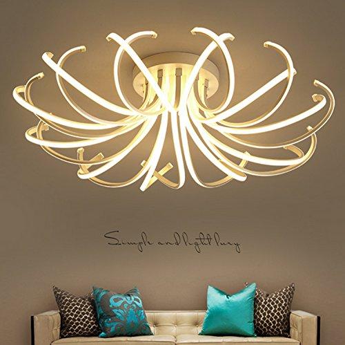 Waineg Living Room Bedroom Modern Led Ceiling Lights White Color Aluminum avize AC85-265V lamparas de techo Ceiling Lamp Fixtures