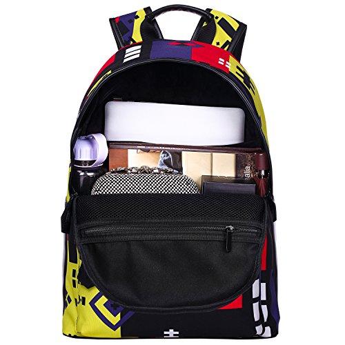 Bistar Galaxy - Mochila escolar para adolescentes, escuela, para niños y niñas, cabe un portátil de 15 pulgadas BBP605