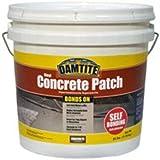 Damtite 04025 Gray Bonds-On Vinyl Concrete Patch, 25 lb. Pail