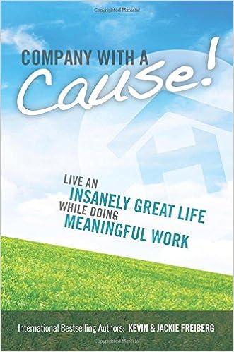 Read Company With A Cause! PDF, azw (Kindle), ePub