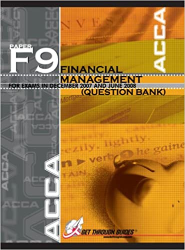 ACCA F9 Question Bank - Financial Management - Question Bank