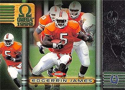 new photos d17db 5a2ea Edgerrin James football card (Miami Hurricanes) 1999 Pacific ...