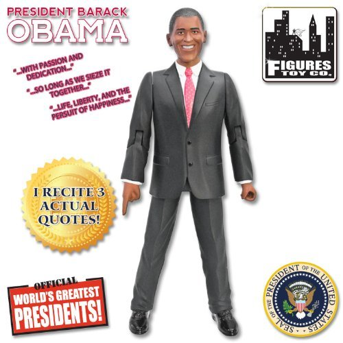 President Barack Obama 8-Inch Talking Action (Barack Obama Doll)