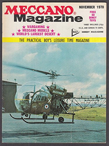 MECCANO MAGAZINE Traction Engine HMS Endurance ice patrol 11 1970 Dinky ad