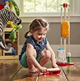 Melissa & Doug Lets Play House Dust! Sweep! Mop! 6-Piece Pretend Play Set