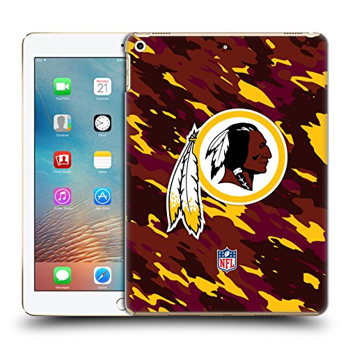 - Official NFL Camou Washington Redskins Logo Hard Back Case for iPad 9.7 2017 / iPad 9.7 2018