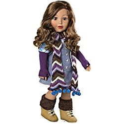"""Adora Amazing Girls 18-inch Doll, """"Ava"""" (Ages 6+) [Amazon Exclusive]"""