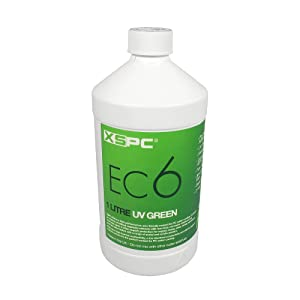 XSPC EC6 High Performance Premix Coolant, 1000 mL, Green UV