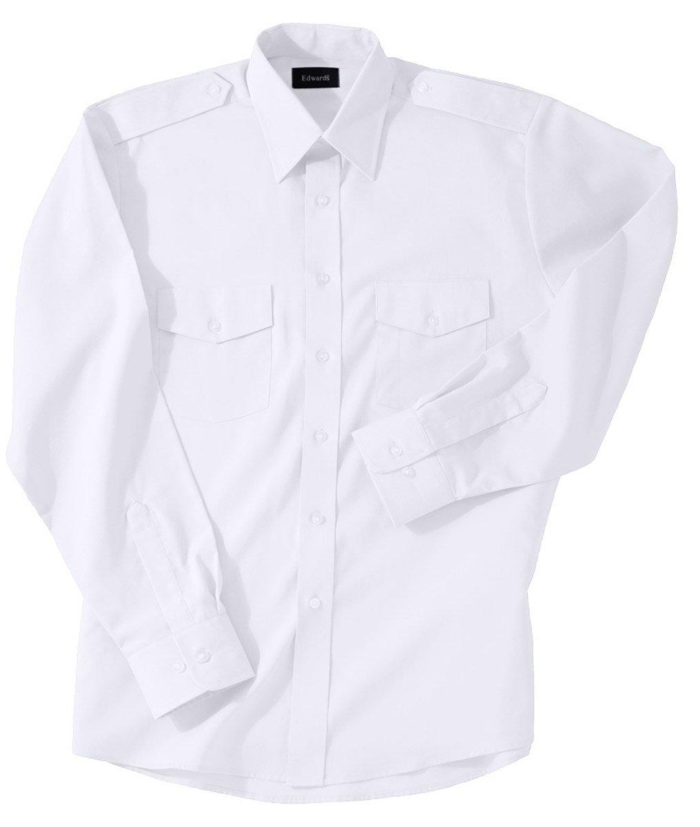 Edwards Garment SHIRT メンズ B07BXN37XP XXXL ホワイト ホワイト XXXL
