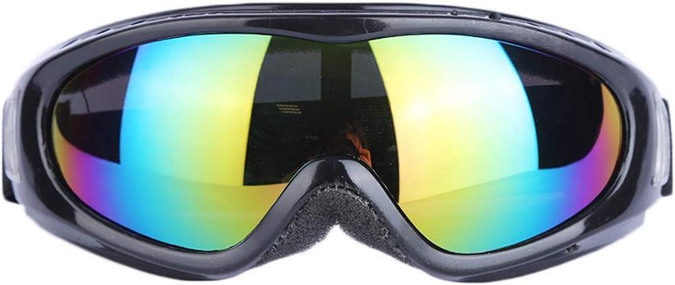 Idyandyans Ski Gl/äser Winddichtes staubdicht Anti-Sand Anti-Schlagschwei/ß Skifahren Augenschutz Schutzbrille