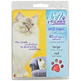 Soft Claws Feline Nail Caps Large Red
