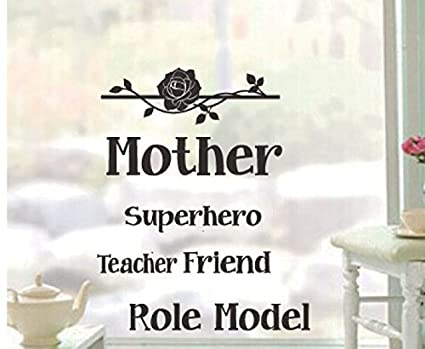 Dnven (6u0026quot;w X 6u0026quot;h) Mother Superhero Teacher Friend Role Model Wall