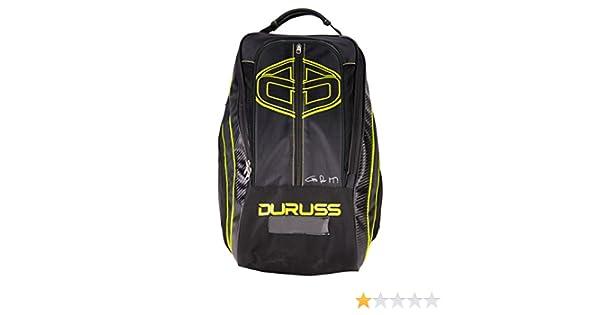 Duruss Neon Mochila de Tenis, Unisex Adulto, Negro, Talla ...