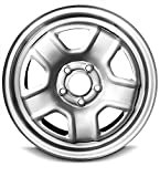 Road Ready Car Wheel For 2014 Jeep Compass 2007-2017 Jeep Patriot 16 Inch 5 Lug Gray Steel Rim Fits R16 Tire - Exact OEM Replacement - Full-Size Spare