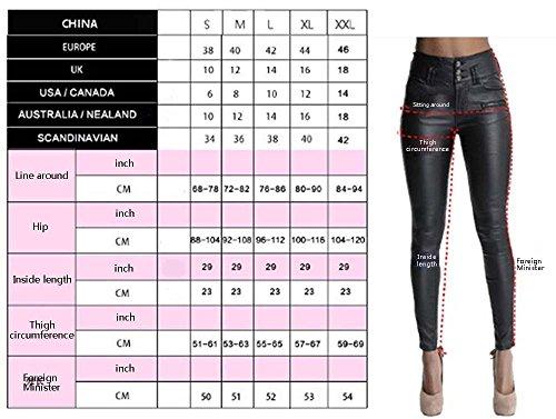 in autunnali strappati Jeans casual jeans Jeans jeans skinny donna denim 2018 da Nero strappati strappato estivi 4I6PPU